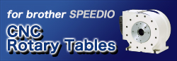 CNC Rotary Tables speedio