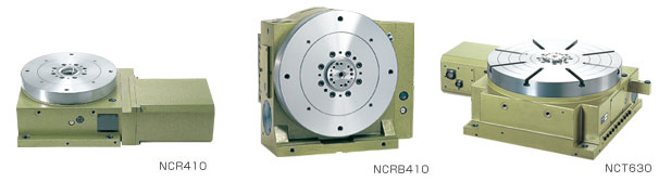 NCT/NCR Series CNC rotary tables